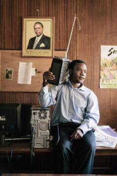Arthur Chokotho, radio reporter, Malawi