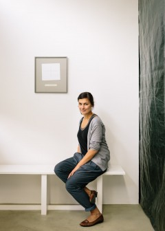 Heike Tosun, gallery owner