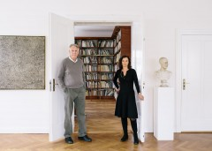 Rudolf and Dorothea Zwirner, art dealer and collector